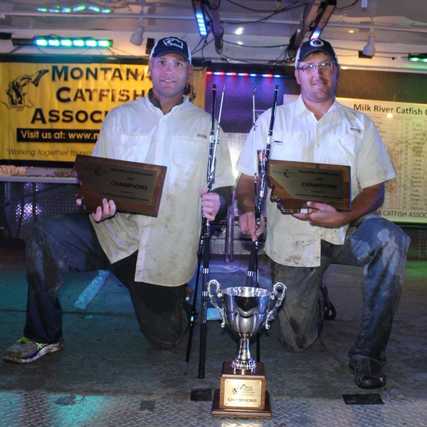 Flaten and Plouffe Reclaim Catfish Classic Titles